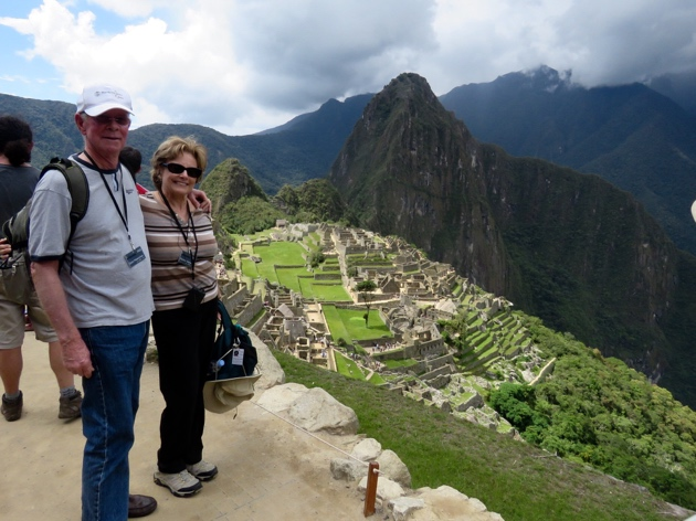 Machu Picchu–Up, up, up we climbed