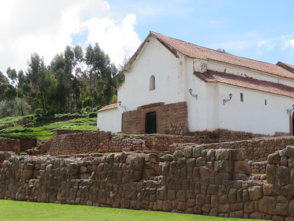 Chinchero–Church built on site of Inca steeple