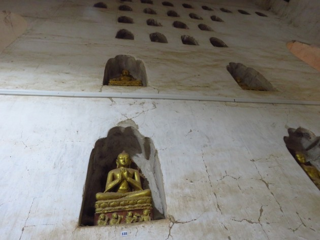 Ananda Temple, Bagan–Buddhas In Niches