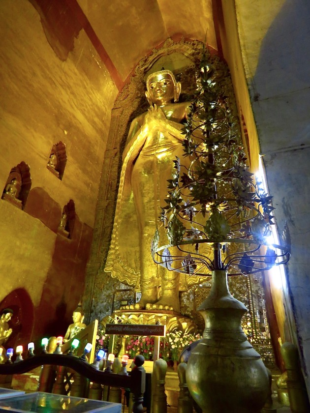 Ananda Temple, Bagan–another Huge Standing Buddha