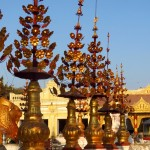 Bagan, Myanmar–Shwezigon Pagoda, Typical Floral Decorations