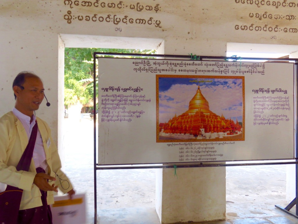 Bagan, Myanmar–Guide Ko Ye At Shwezigon Pagoda