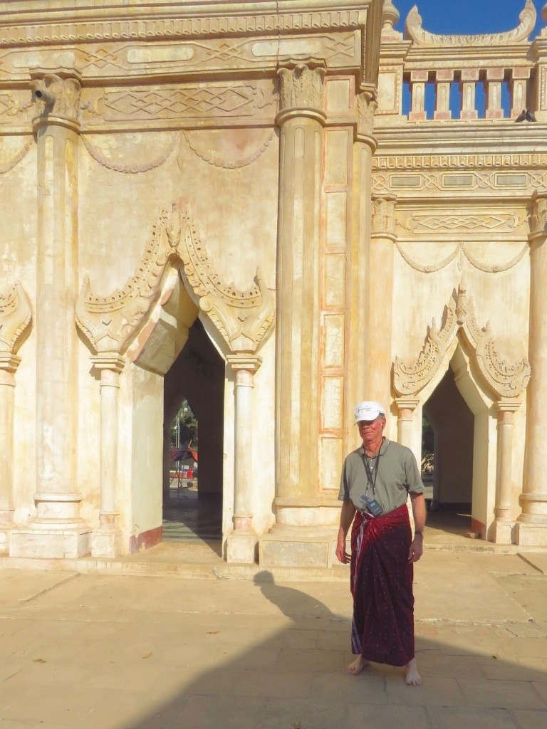 Bagan, Myanmar–Don goes native
