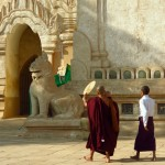 Monks, Ananda Temple, Bagan