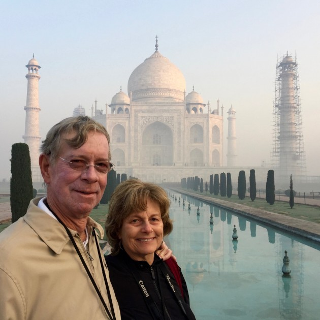 At The Taj Mahal 2