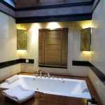 Bagan, Myanmar–Aureum Palace, Villa Bathroom