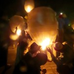 Inle Lake, Myanmar–Lighting The Balloons