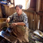 Inle Lake, Myanmar–Making Lotus Fiber Thread