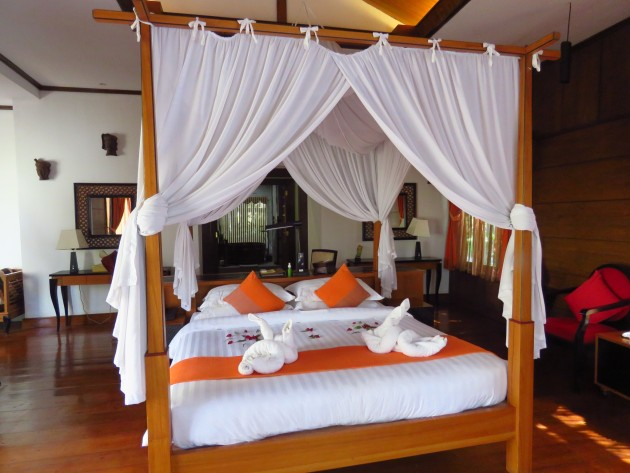 Inle Lake, Myanmar–Our Bedroom At The Aureum Palace Resort