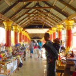 Inle Lake, Myanmar–Shopping Arcade At Shwe Inn Dain