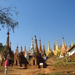 Inle Lake, Myanmar–Shwe Inn Dain–So Many Pagodas