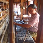 Inle Lake, Myanmar–Silk Weaver