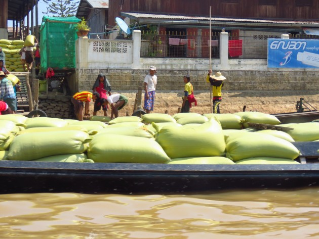 Myanmar–Inle Lake–scenes On The Boat Ride3