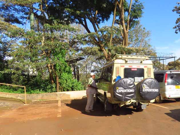 Tanzania–Ngorongoro Crater–Our Safari Jeep