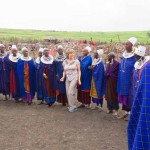 Tanzania Ngorongoro Crater Marlene Dances With Masai Women