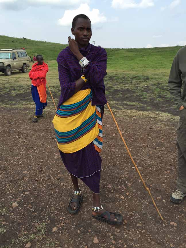 Tanzania Ngorongoro Crater Welcome To Masai Village