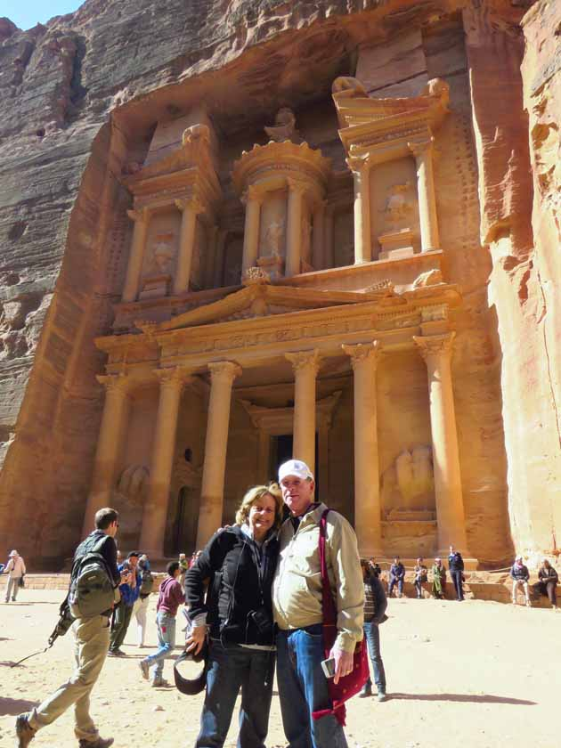 Petra–Marlene And Don At The Treasury