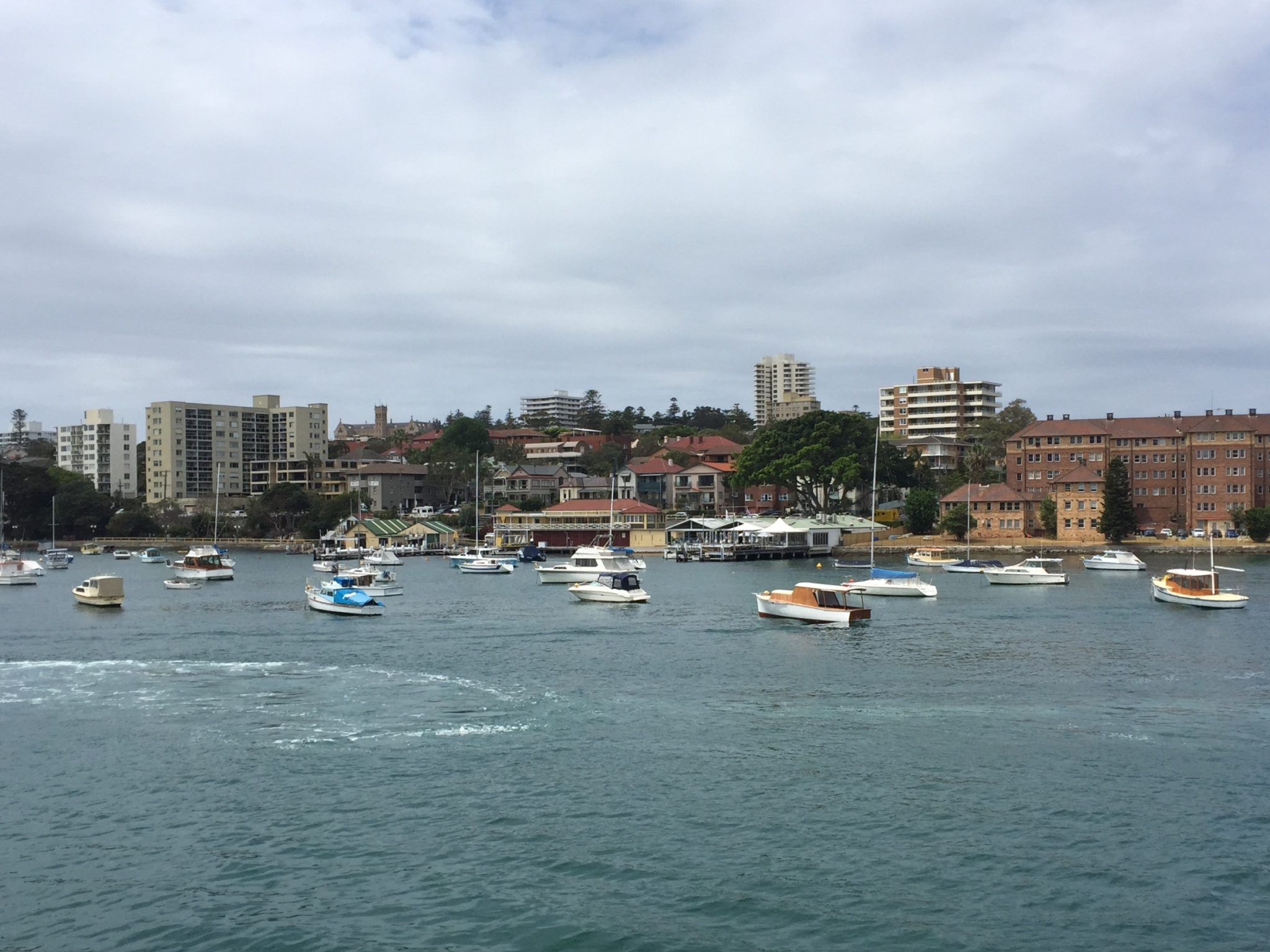 View from the ferry to Manly