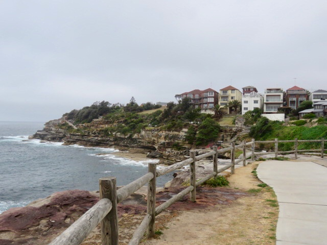 Houses overlooking Bondi Beach